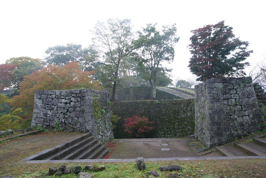 Oka-jō Ruins bij Kumamoto