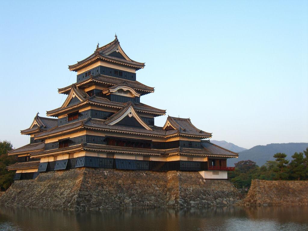 Kasteel in Matsumoto
