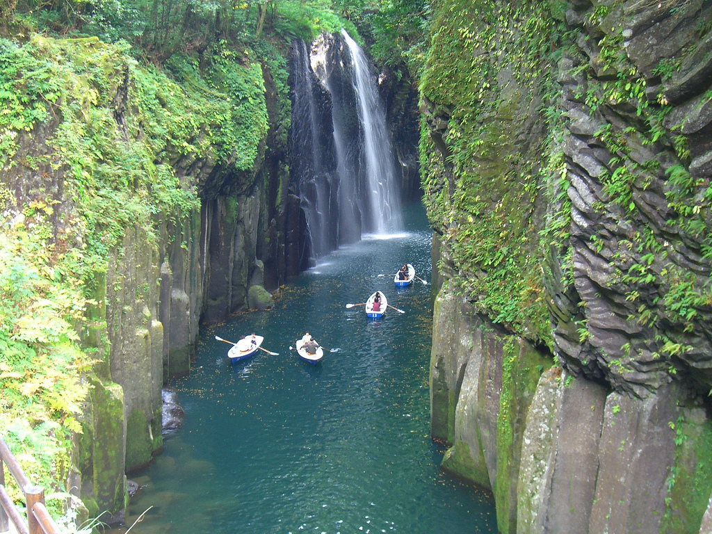Takachiho-kyo Gorge Japan