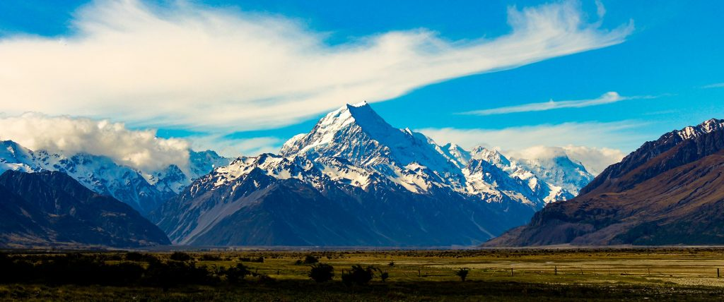 Aoraki / Mount Cook: the highest mountain in New Zealand